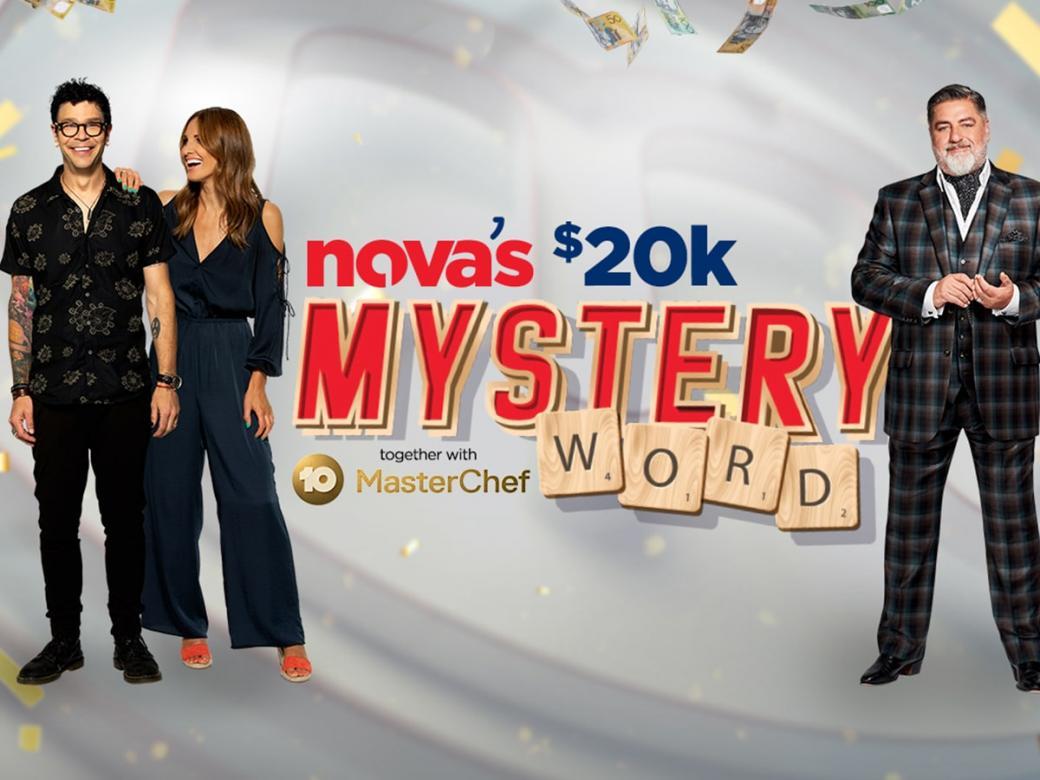 Nova's $20k Mystery Word Together With MasterChef