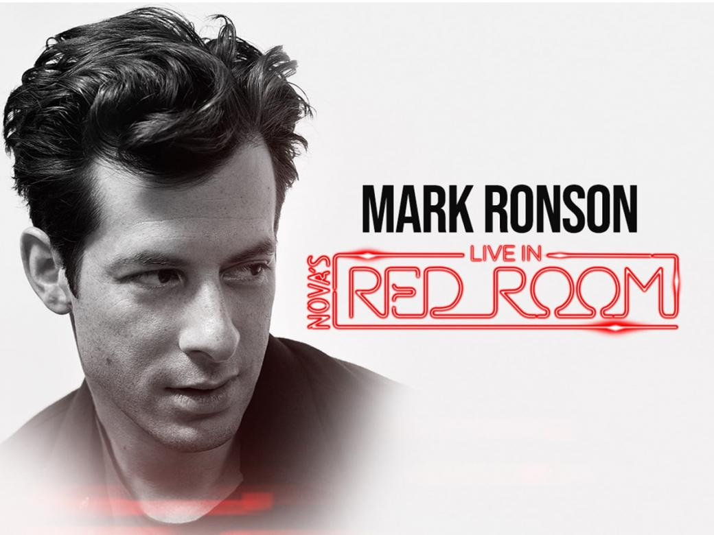 Smallzy's Sending You To See Mark Ronson  Live In Nova's Red Room!