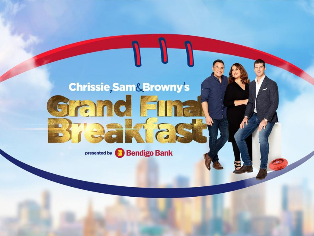 Join Us At Chrissie, Sam & Browny's Grand Final Breakfast!