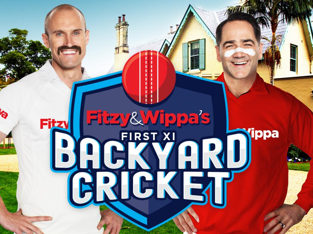 Join Fitzy & Wippa At Kirribilli House For Their First XI Backyard Cricket!