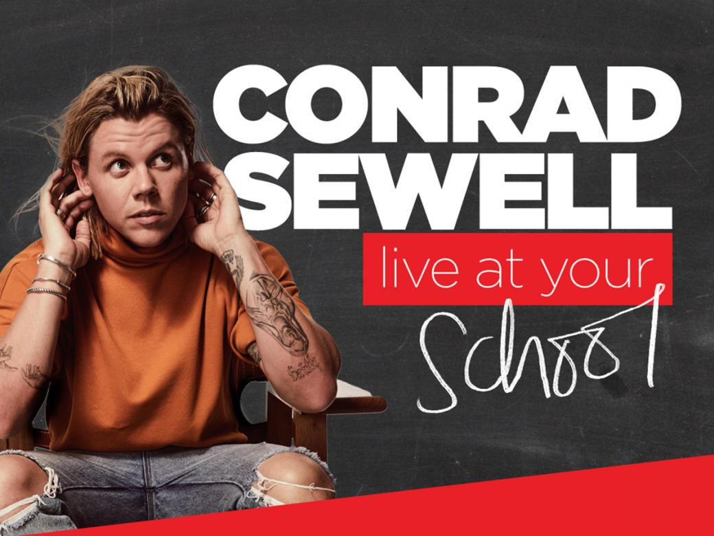 Conrad Sewell Live At Your School!