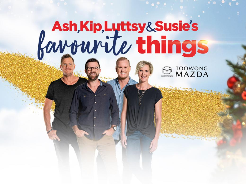Win Amazing Prizes With Ash, Kip, Luttsy & Susie