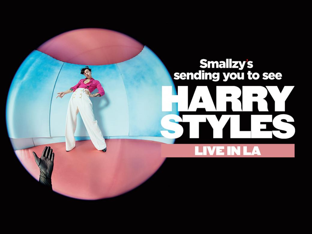 Smallzy's Sending You To See Harry Styles Live In LA!