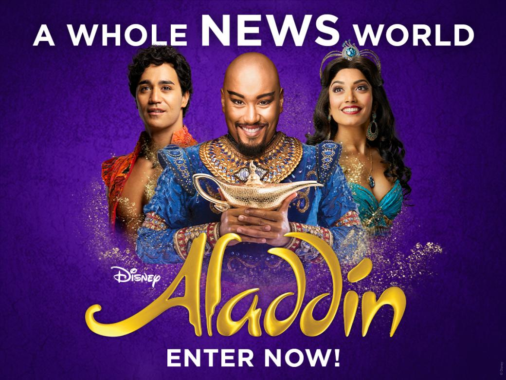 Win Tickets To See Disney's Hit Broadway Musical Aladdin!