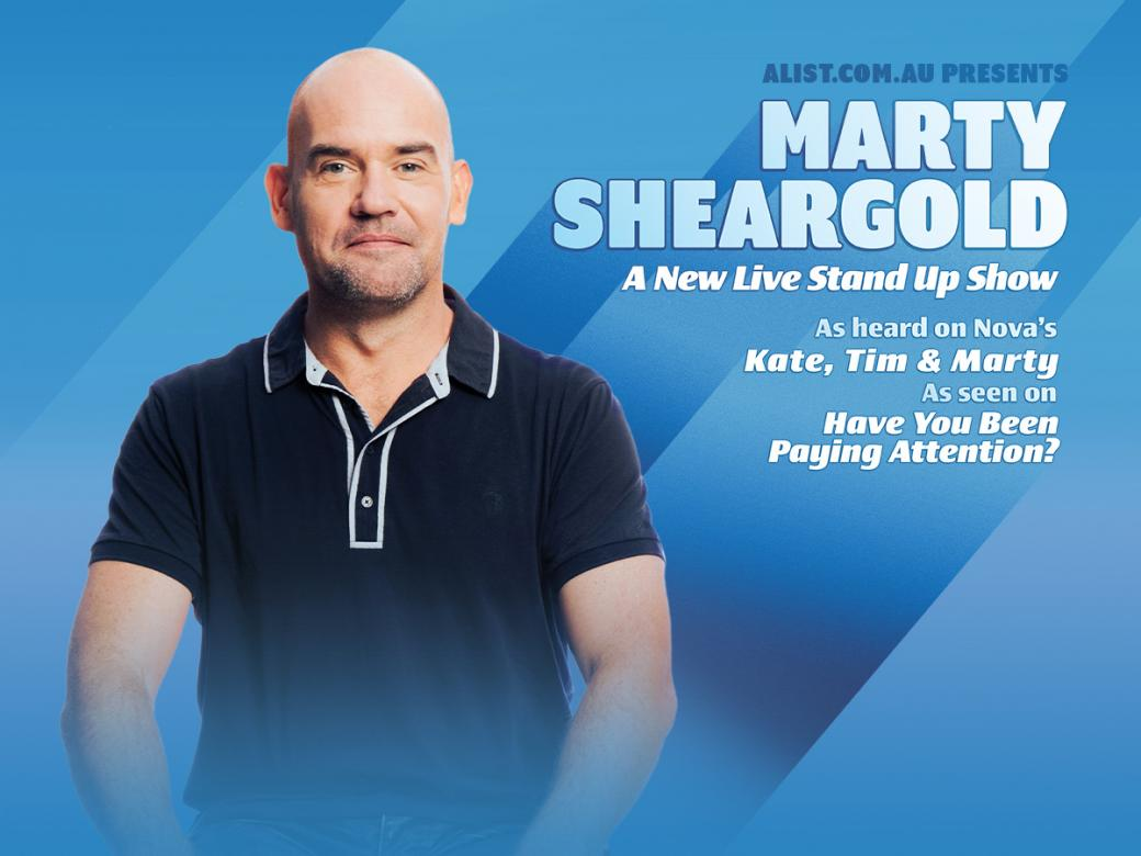 See Marty Sheargold Live!