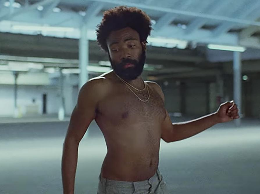 Childish Gambino doesn't look like this anymore