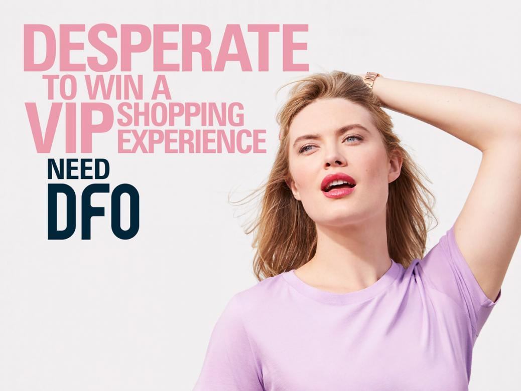 Win a VIP Shopping Experience at the launch of DFO Perth