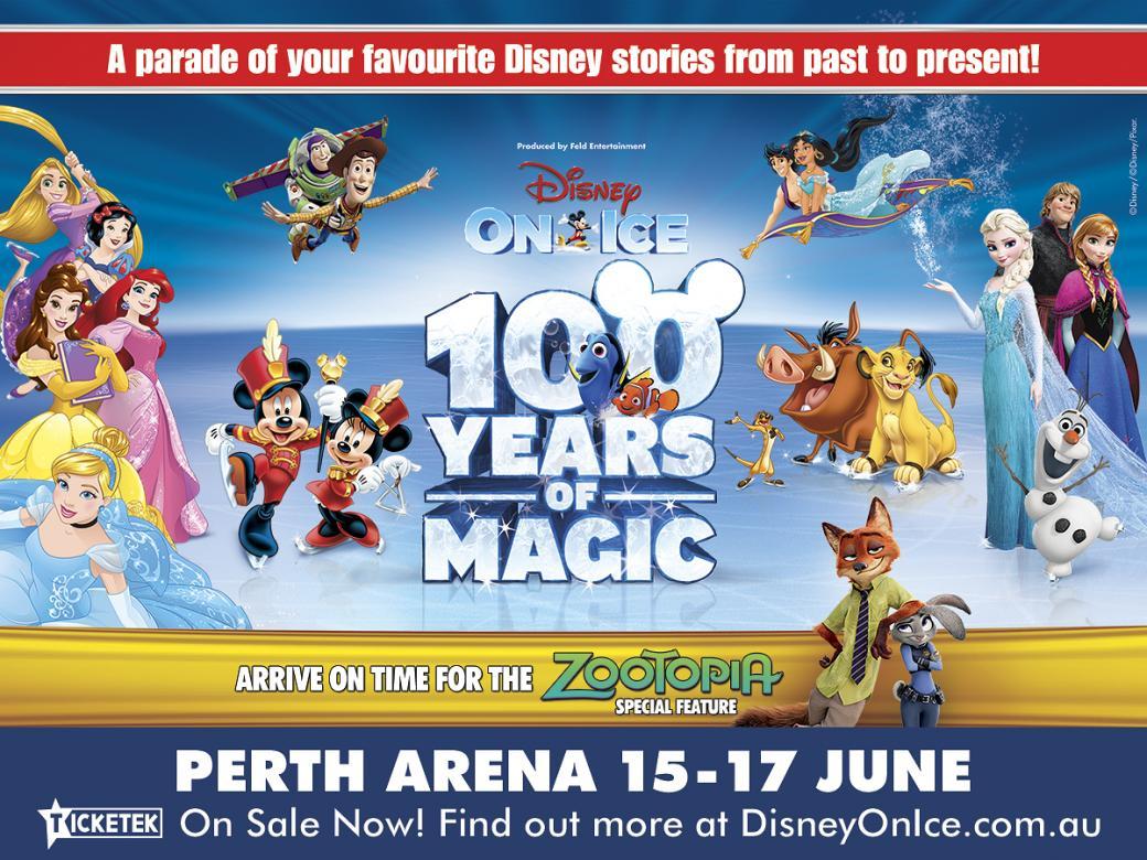 Win tickets to Disney On Ice celebrates 100 Years of Magic