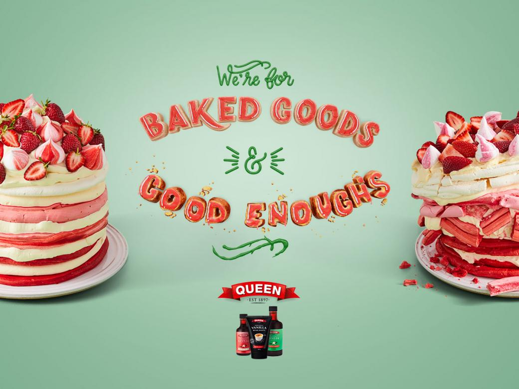 Win a Queen baking pack and a stylish new stand mixer!