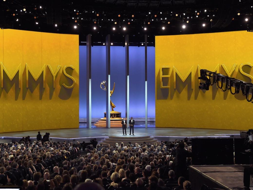 The Emmys just made history with a legit on stage proposal