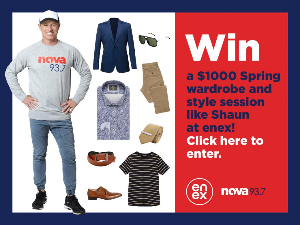 Win a $1000 Spring Wardrobe & Style Session thanks to enex