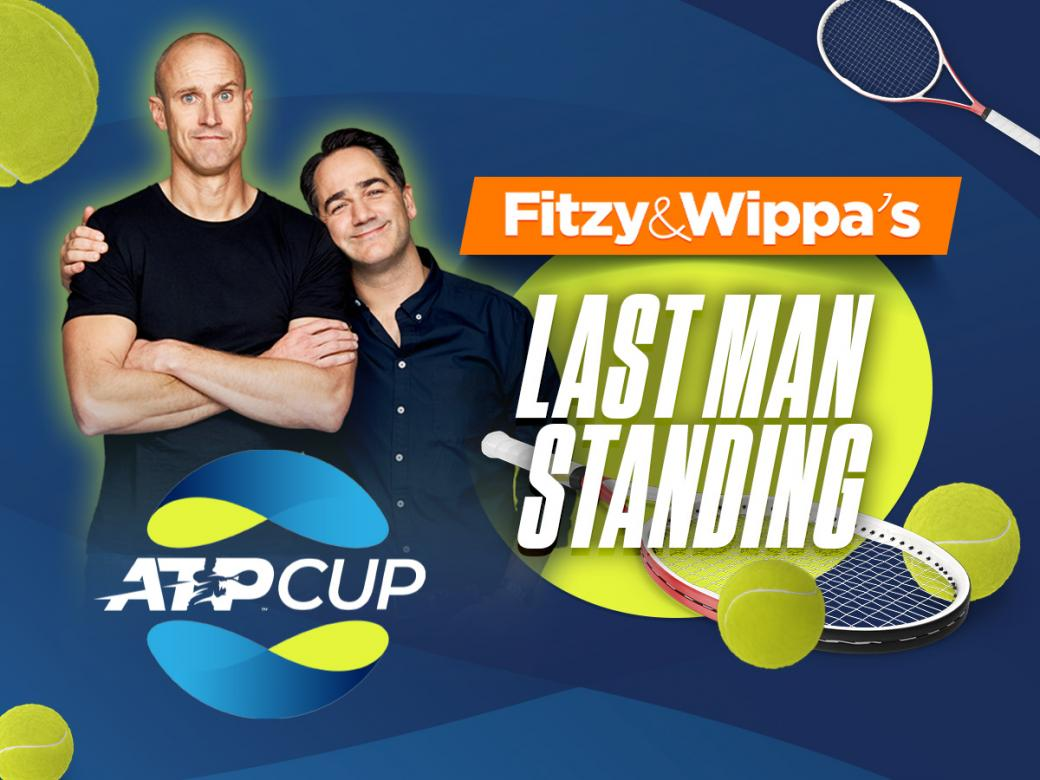 Win $1K & Tickets To ATP Cup Every Morning With Fitzy & Wippa!