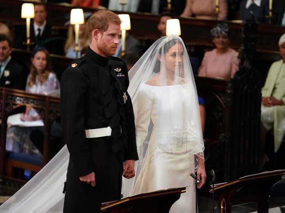 The 'big disturbance' at the Royal Wedding that has social media talking
