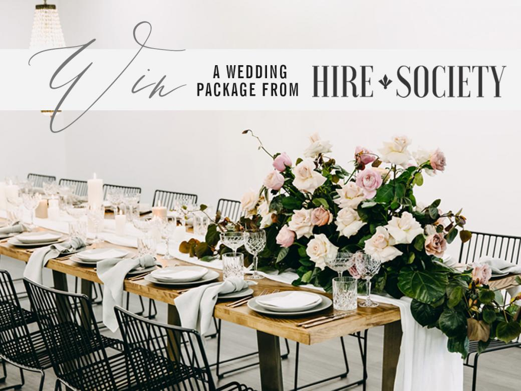 Win A Dream Wedding Thanks To Hire Society