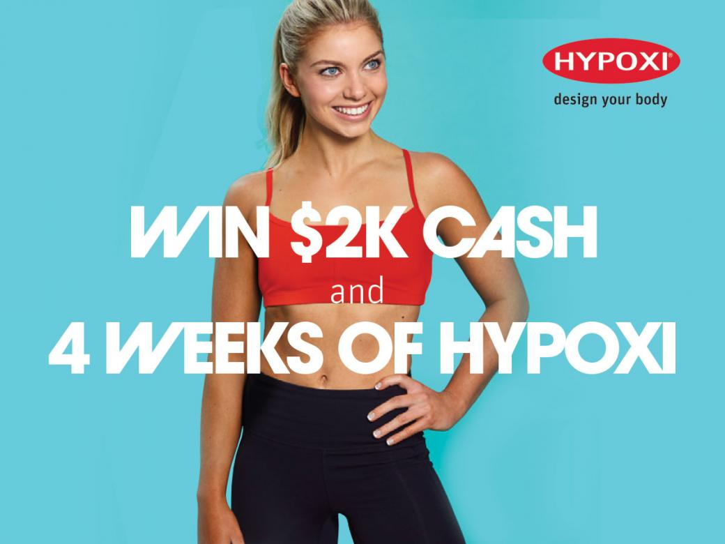 WIN $2K CASH And 4 Weeks Of HYPOXI