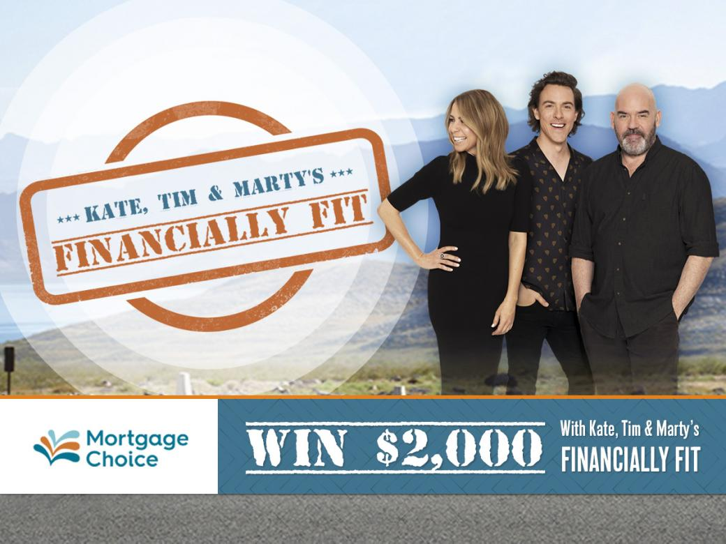 Win $2,000 With Kate, Tim And Marty's 'Financially Fit'