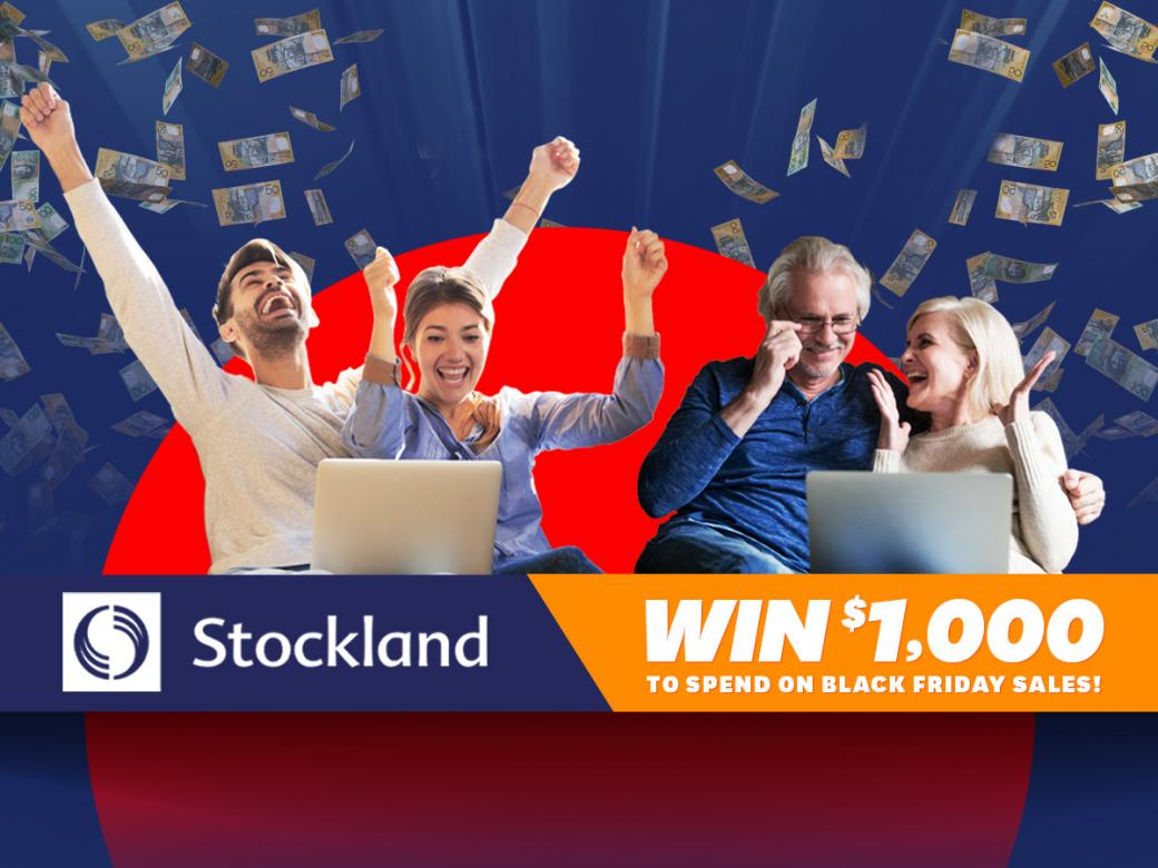 Stockland Is Celebrating Black Friday