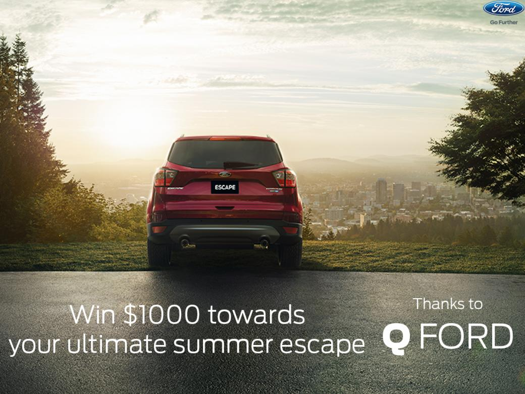 Win $1000 towards your ultimate summer escape!