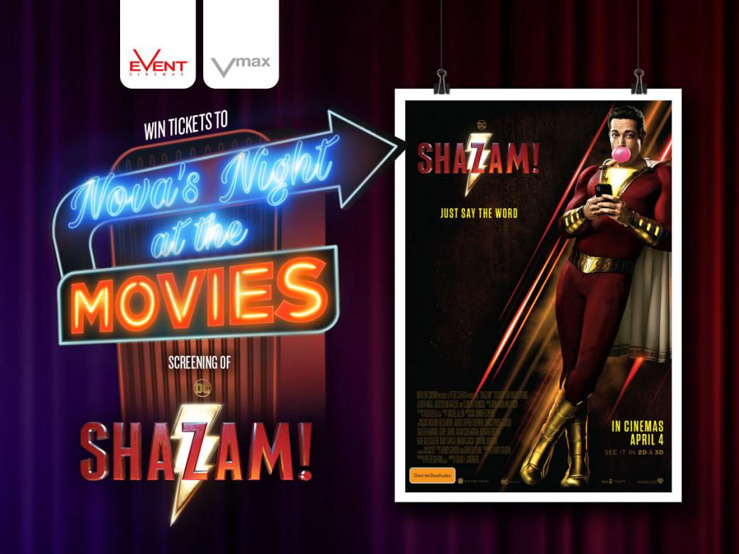 Nova's Night At The Movies Advance Screening Of SHAZAM!