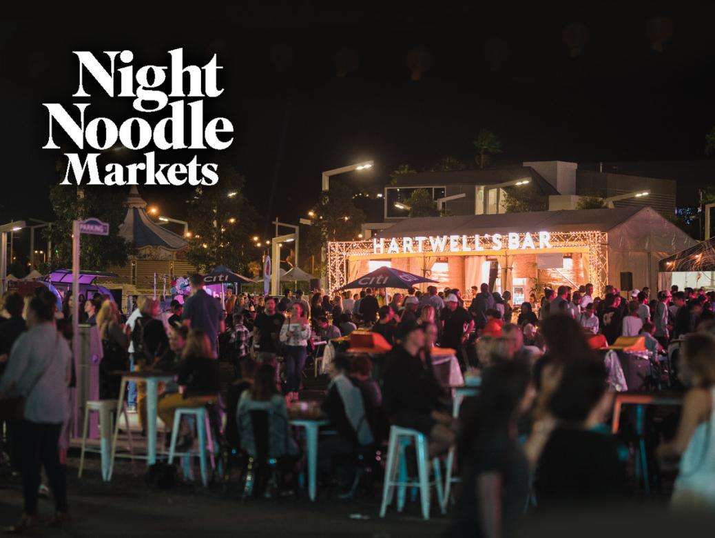 The Night Noodle Markets are back for Good Food Month presented by Citi!
