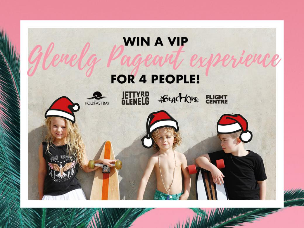 Win a VIP Pageant Experience for 4 people!