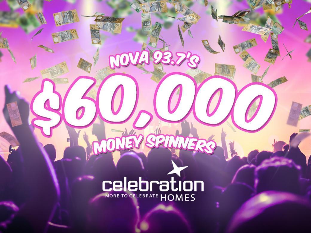 Nova 93.7's $60,000 Money Spinners for Celebration Homes