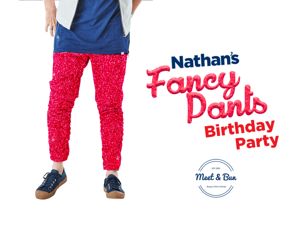 How Would You Like To Score Two Invite To Nathan's Birthday Celebrations?