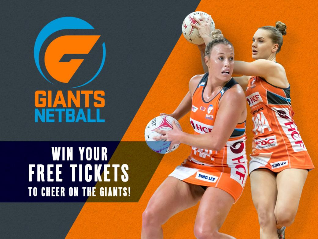 Win Your Free Tickets To Cheer On The GIANTS!