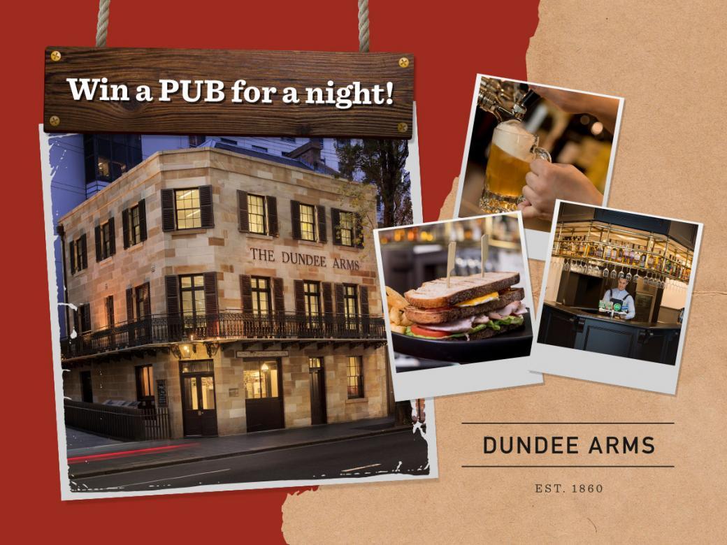 Win a pub for a night!