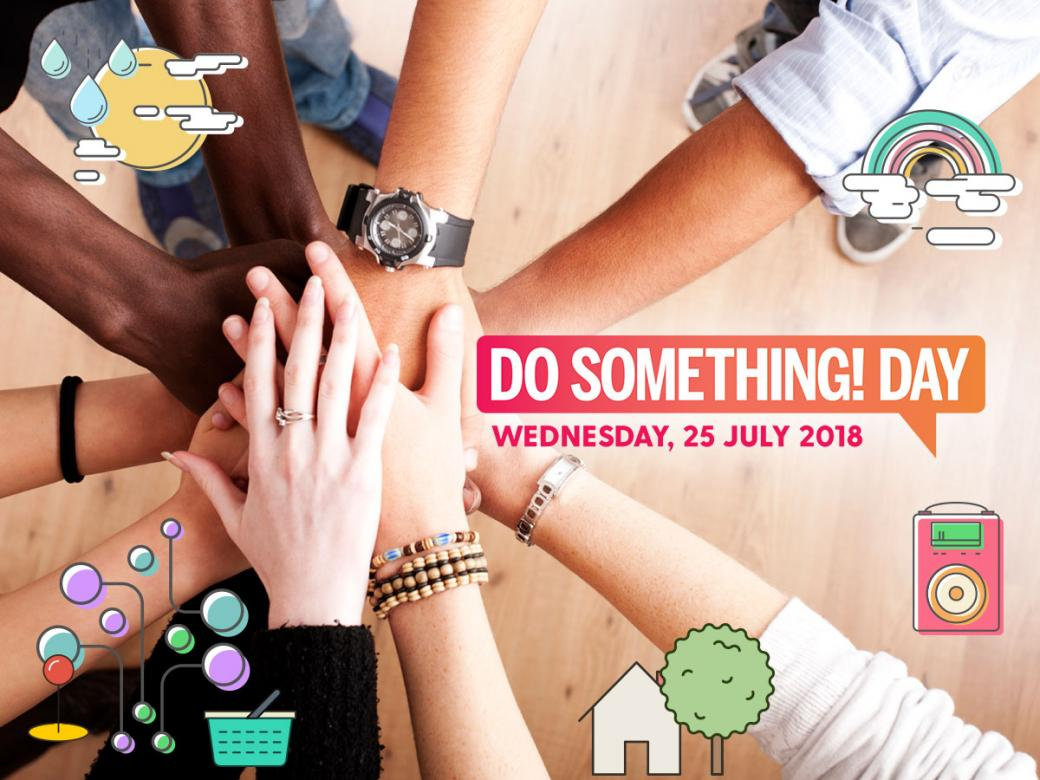 What can we do for YOU on Do Something Day?