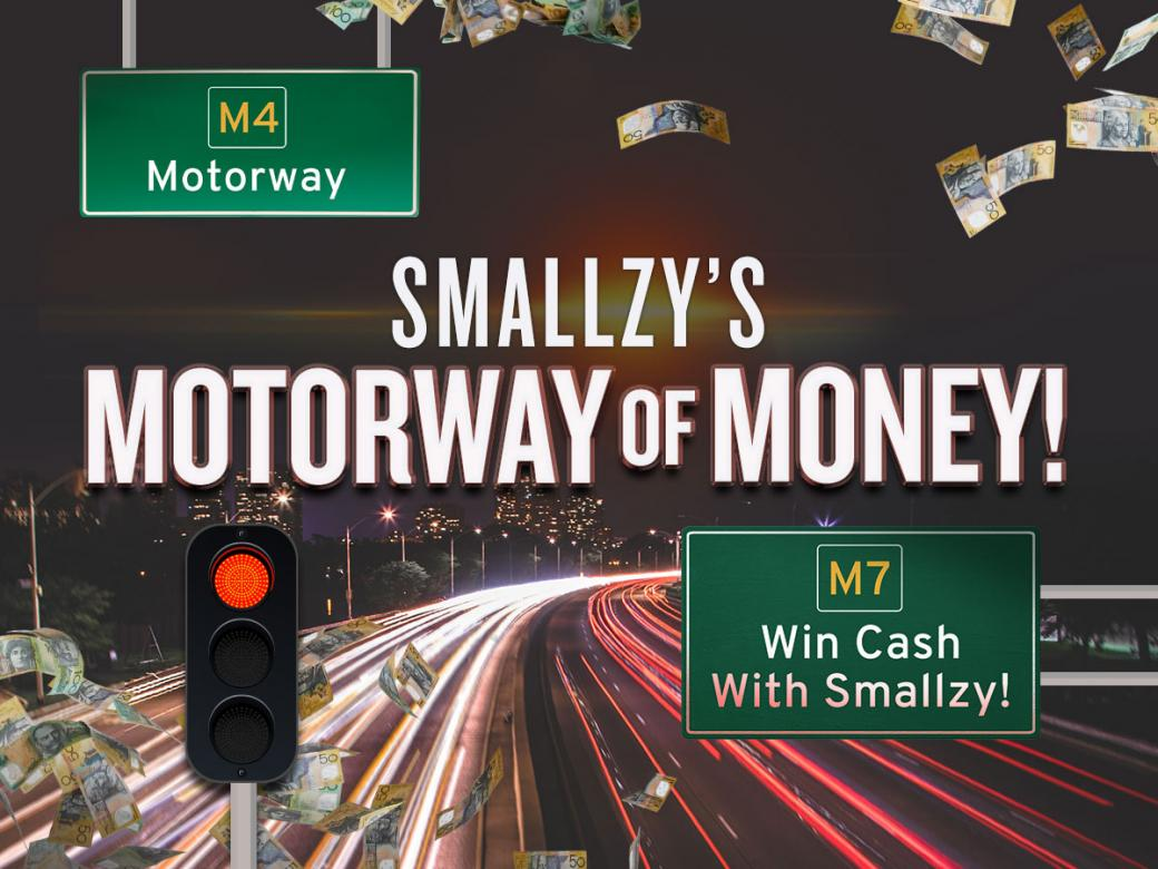 Smallzy's Motorway Of Money! Win Cash With Smallzy!