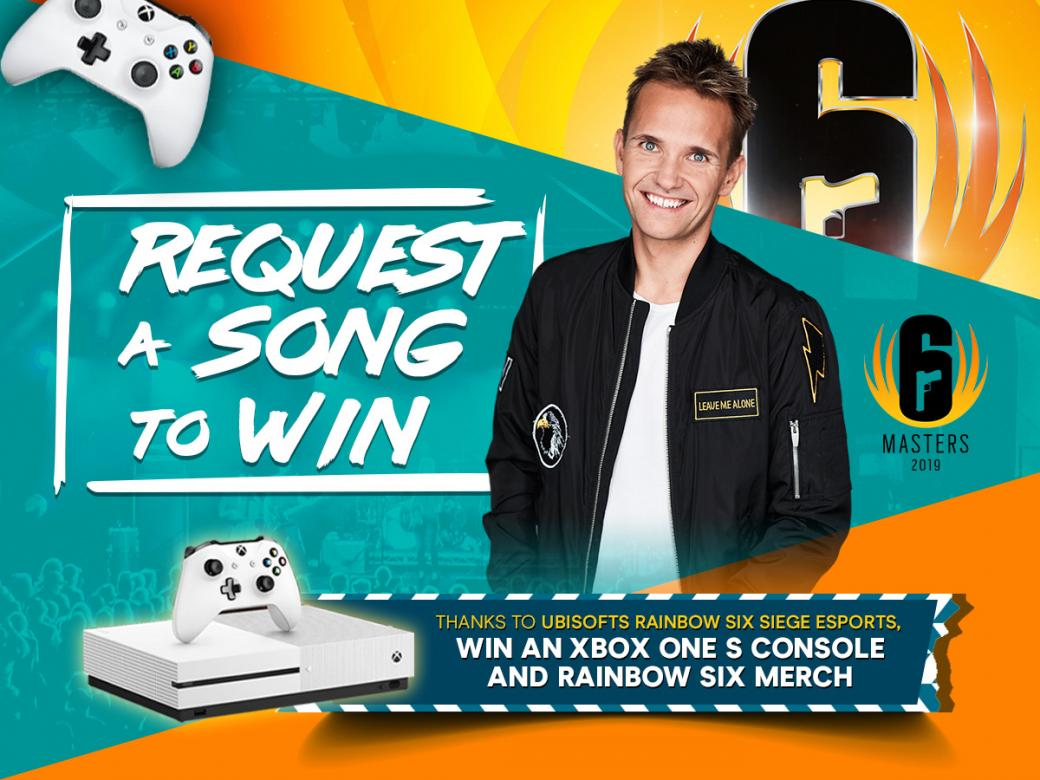 Request Your Favourite Song To Win! Win A Rainbow Six Merch and Xbox One S Console!