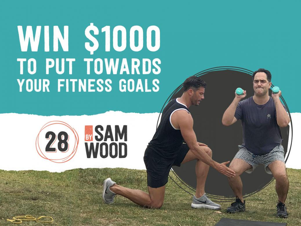 WIN $1000 to put towards your fitness goals!