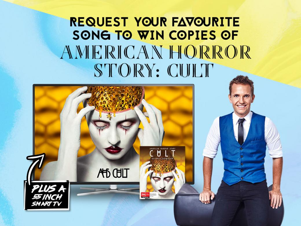 Request your favourite song to WIN copies of American Horror Story: Cult PLUS a 55 inch Smart TV!