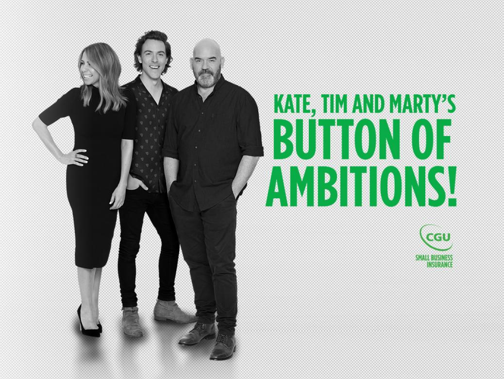 Win your share of $100,000 with Kate, Tim and Marty!