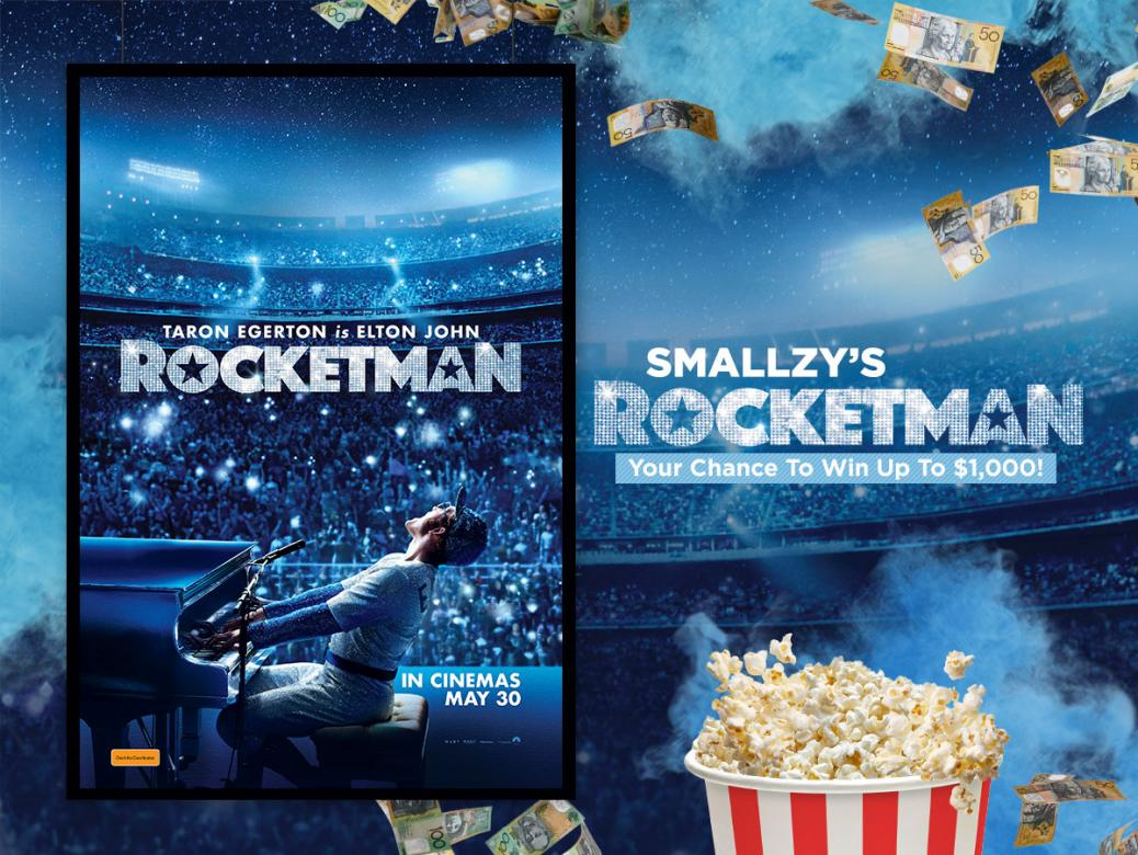 Smallzy's ROCKETMAN! Your Chance To Win Up To $1,000!