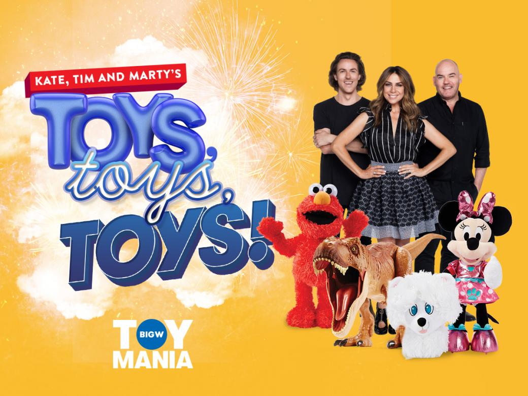 It's Toy Mania! Win a thousand bucks cash PLUS an extra thousand to spend at Big W!