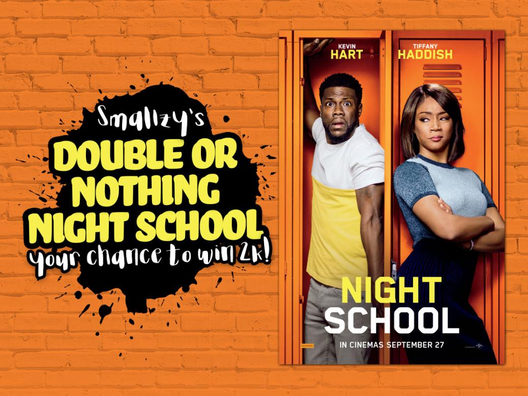 Smallzy's Double or Nothing Night School! YOUR chance to win 2K!