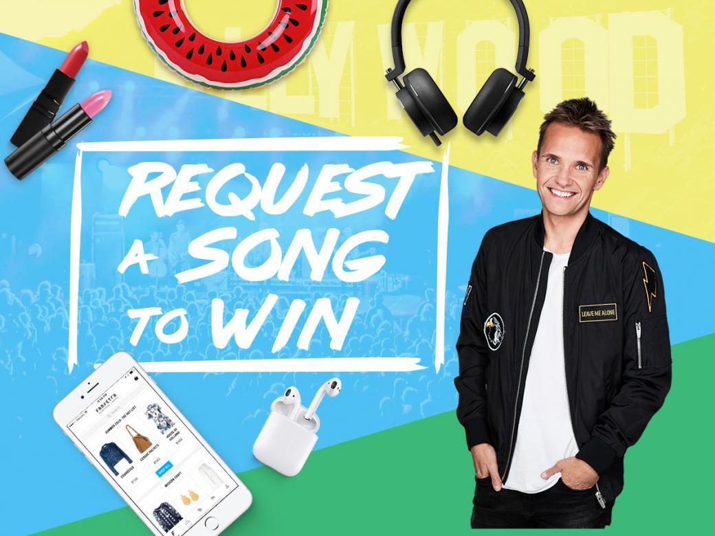 Request Your Favourite Song To WIN!