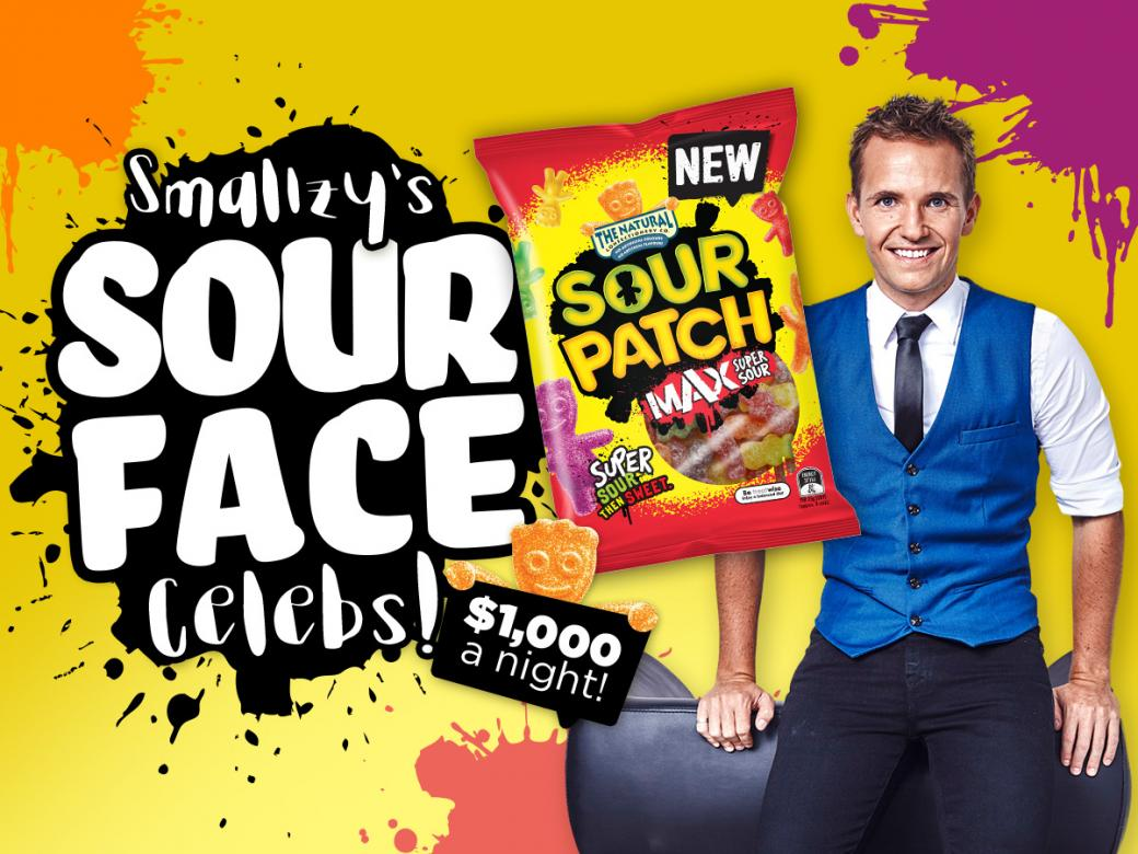 Smallzy's Sour Face Celebs! $1,000 a night!