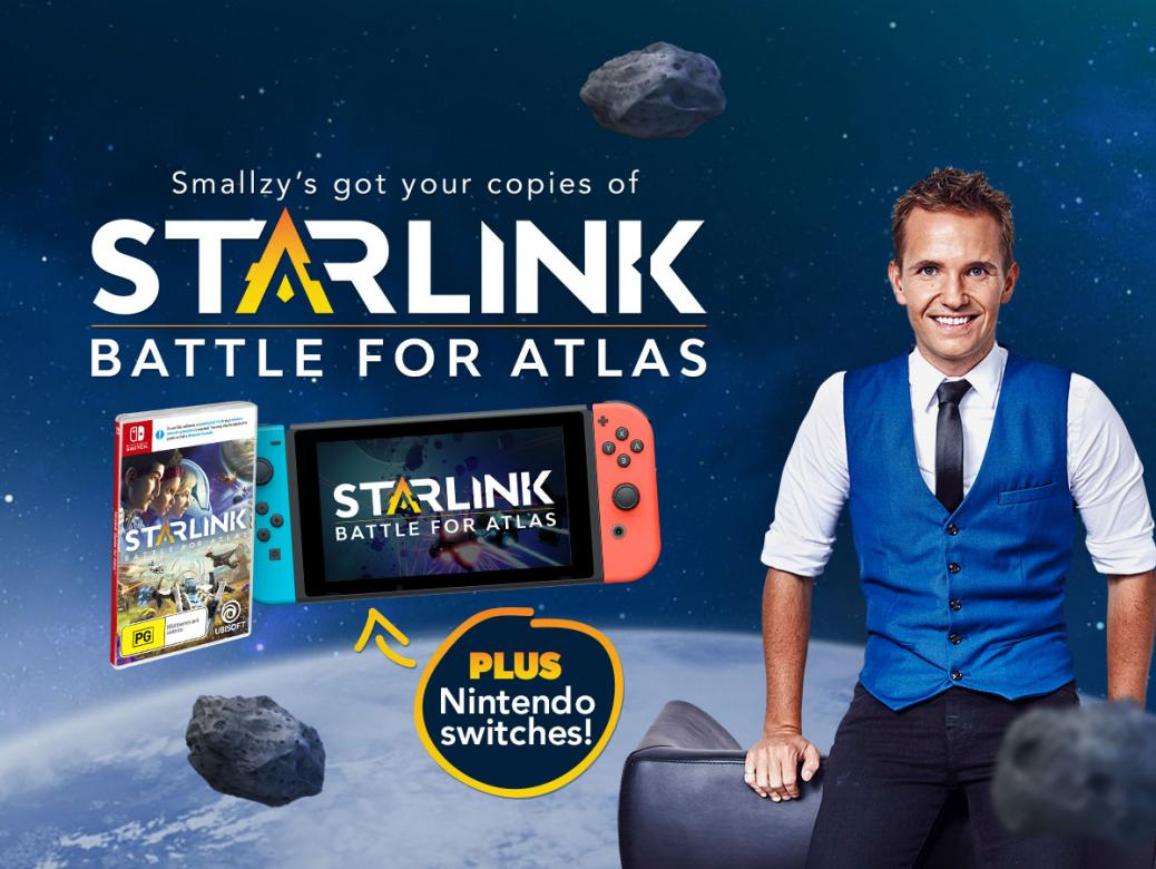 Smallzy's got YOUR copies of Starlink: Battle for Atlas PLUS Nintendo Switches!
