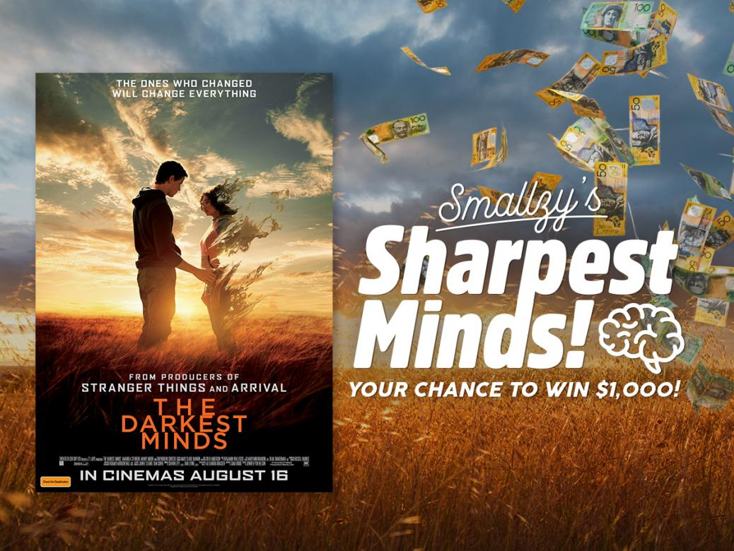 Smallzy's Sharpest Minds! YOUR chance to win $1,000!
