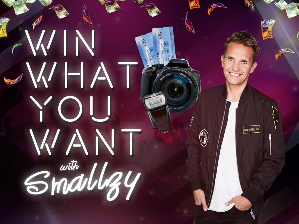 Win what you want with Smallzy!
