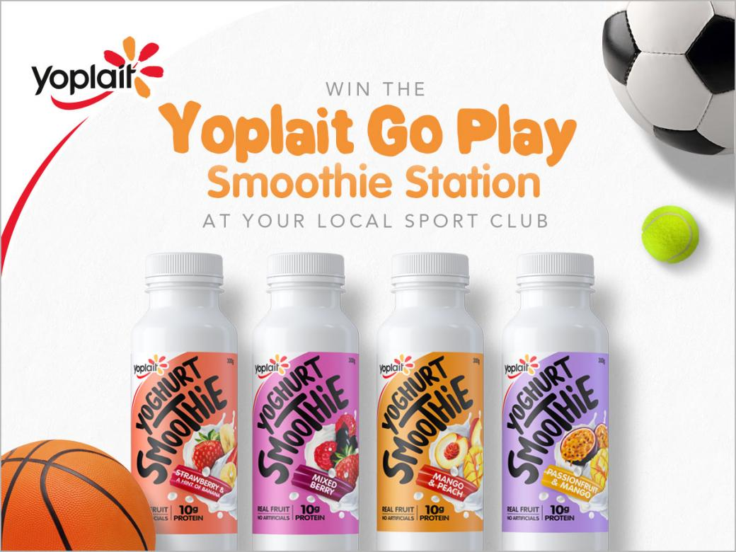 Win The Yoplait Go Play Smoothie Station At Your Local Sport Club