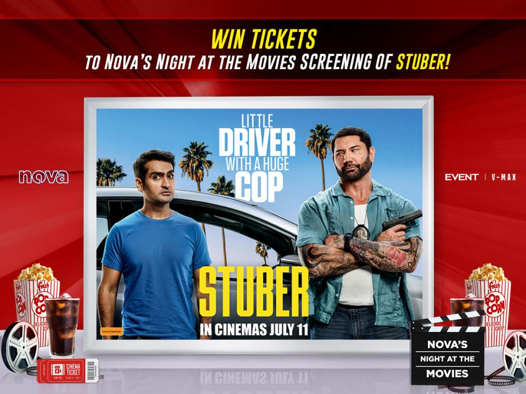 Nova's Night At The Movies Advance Screening Of 'Stuber'!