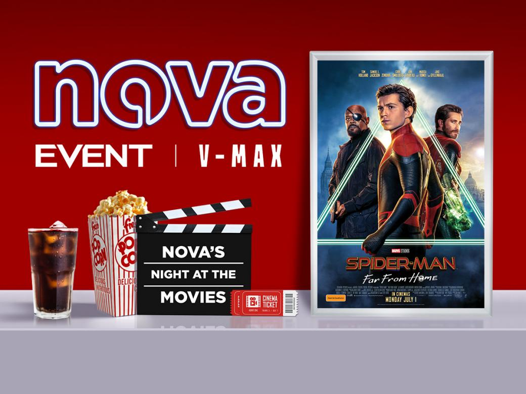 Nova's Night At The Movies Advance Screening Of Spider-Man: Far From Home!