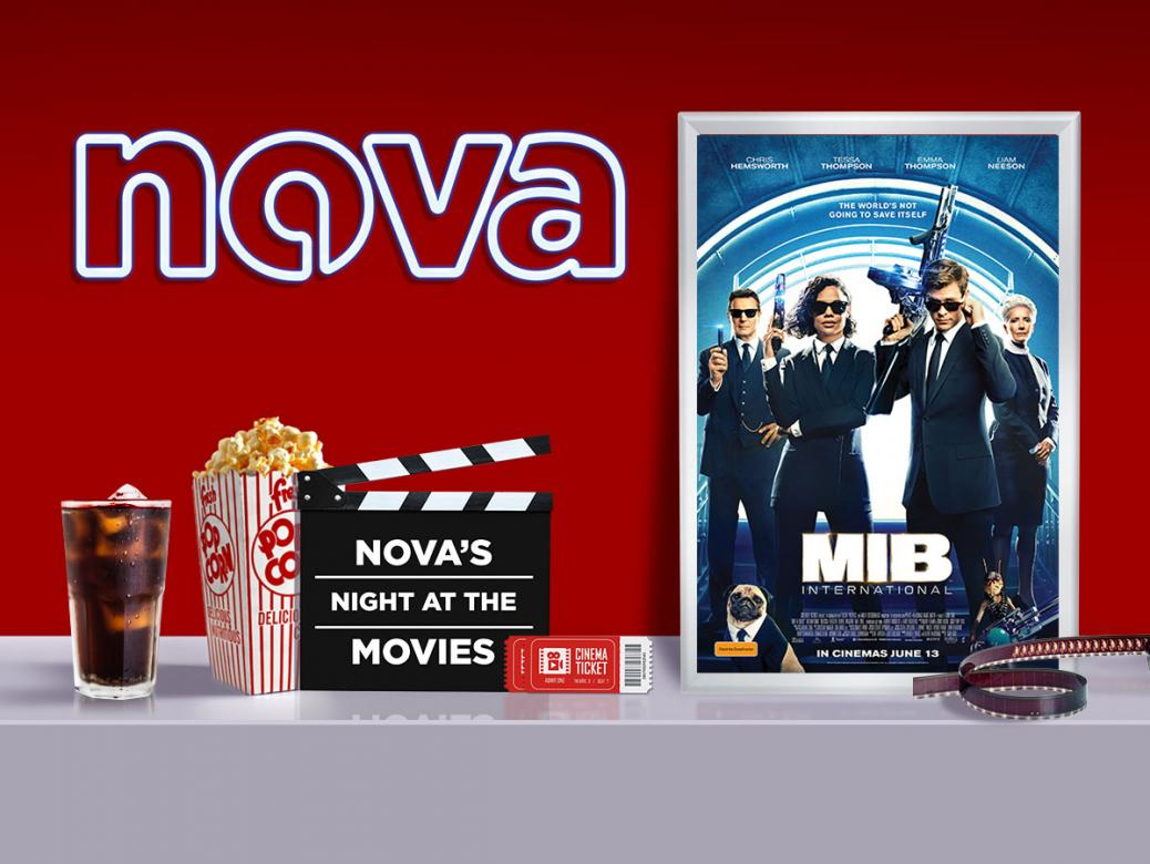 WIN Tickets To Nova's Night At The Movies Screening Of MEN IN BLACK INTERNATIONAL