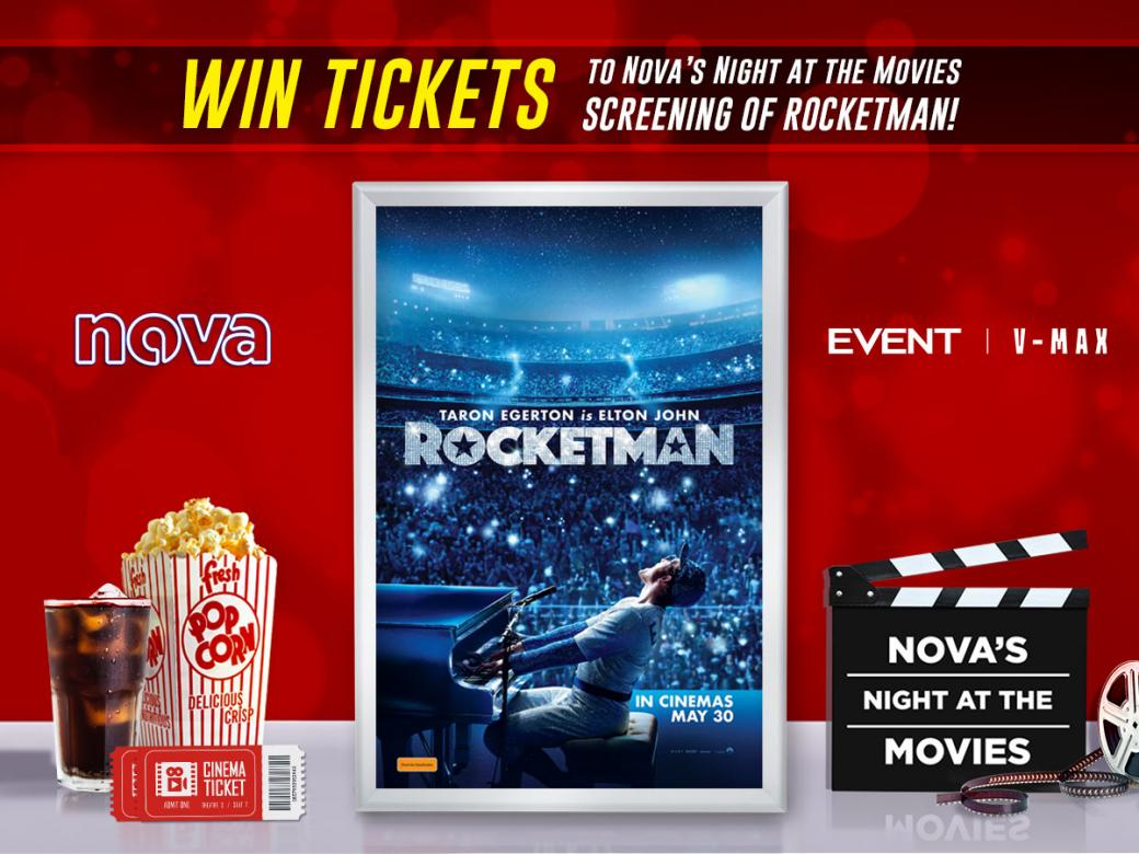 Nova's Night At The Movies Advance Screening Of ROCKETMAN!