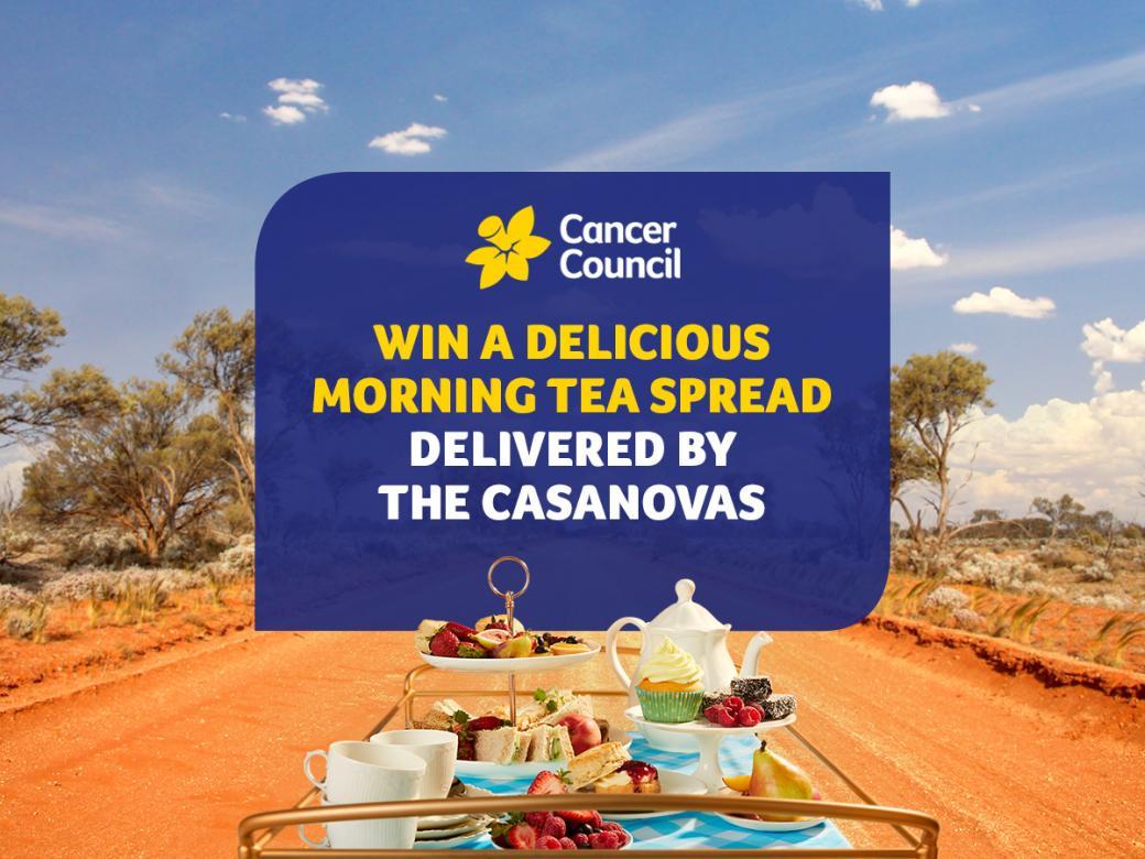 Win a delicious morning tea spread delivered by the Casanovas!