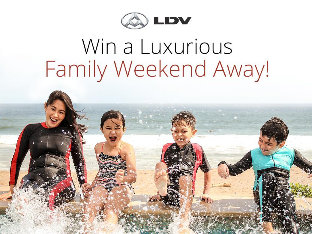 Win a luxurious family weekend break!